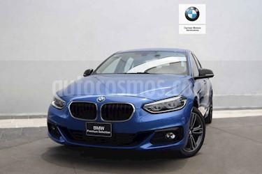 Foto venta Auto usado BMW Serie 1 5P 120iA Sport Line (2019) color Azul precio $490,000