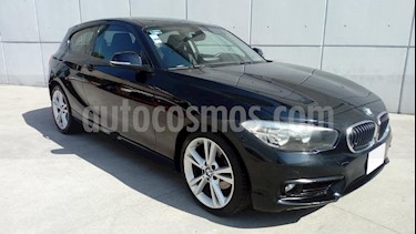 Foto venta Auto Seminuevo BMW Serie 1 5P 120iA Sport Line (2016) color Negro precio $290,000