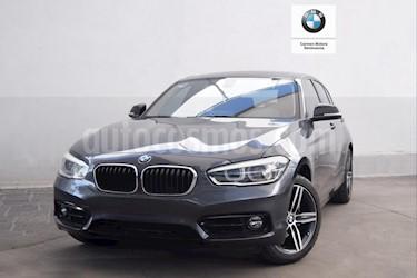 Foto venta Auto usado BMW Serie 1 5P 120iA Sport Line (2018) color Gris precio $440,000