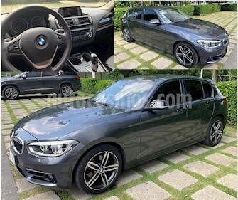 BMW Serie 1 5P 120iA Sport Line usado (2016) color Gris Mineral precio $360,000