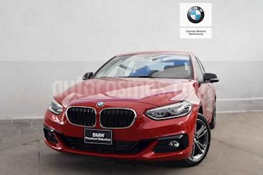 Foto venta Auto usado BMW Serie 1 5P 120iA Sport Line (2019) color Rojo precio $500,000