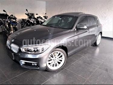 Foto venta Auto usado BMW Serie 1 5P 120iA Urban Line (2017) color Gris precio $365,000