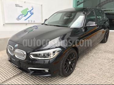 Foto venta Auto usado BMW Serie 1 5P 120iA Urban Line (2017) color Negro Zafiro precio $345,000