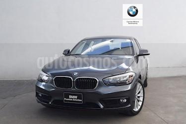 Foto venta Auto usado BMW Serie 1 5P 120iA (2017) color Gris precio $350,000