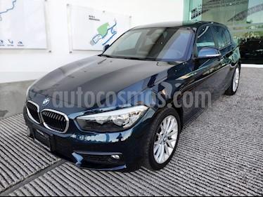 Foto venta Auto usado BMW Serie 1 5P 120iA (2017) color Azul Profundo precio $315,000