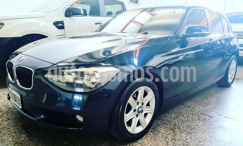 BMW Serie 1 116i 5P usado (2012) color Azul Oscuro precio u$s19.000