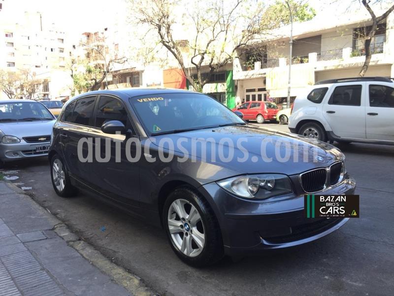 BMW Serie 1 120i 5P usado (2009) color Gris Oscuro precio $1.000.000