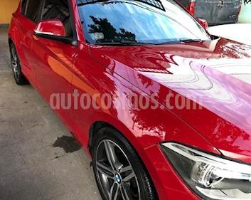 BMW Serie 1 118i Sport Line 5P Aut usado (2013) color Rojo precio $1.280.000