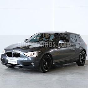 BMW Serie 1 116i 5P usado (2012) color Gris Mineral precio $903.000