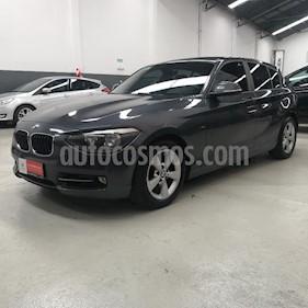 BMW Serie 1 118i Sport Line 5P usado (2013) color Gris Oscuro precio $1.689.500