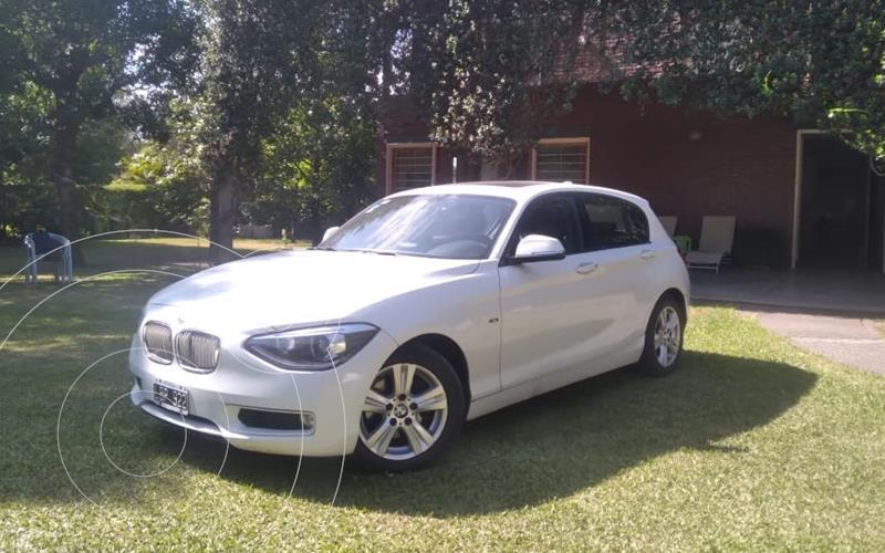 BMW Serie 1 118i Active 5P usado (2012) color Blanco precio u$s13.500