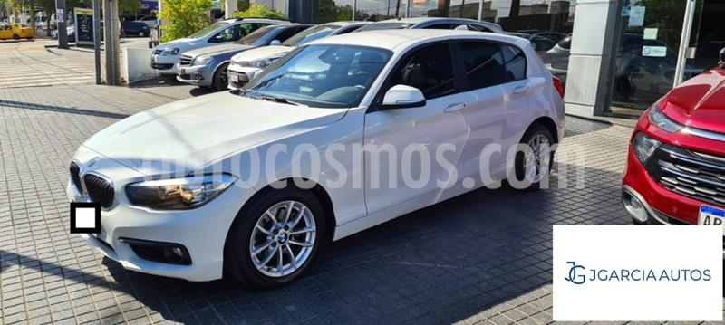 BMW Serie 1 120i Sport Line 5P usado (2016) color Blanco precio $3.800.000