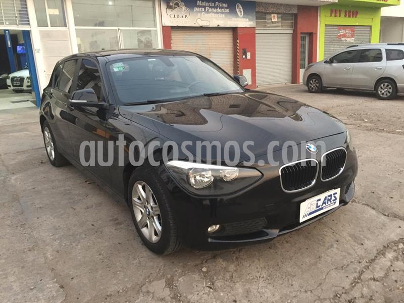 BMW Serie 1 116i 5P usado (2013) color Negro precio u$s15.000