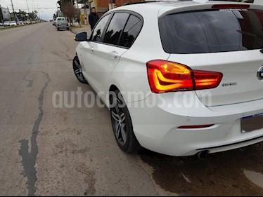 BMW Serie 1 118i Sport Line 5P usado (2017) color Blanco precio $1.990.000