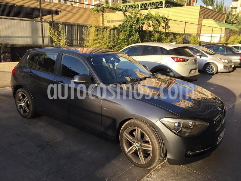 BMW Serie 1 116i 5P usado (2013) color Gris Mineral precio $9.500.000
