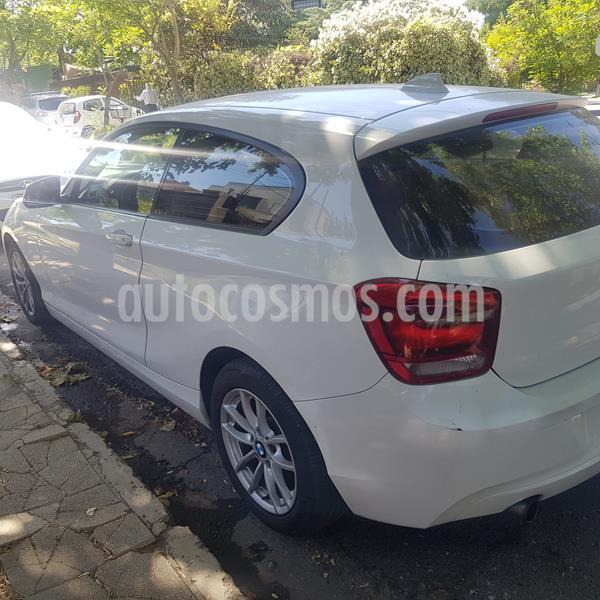 BMW Serie 1 116i 3P usado (2013) color Blanco precio $9.850.000