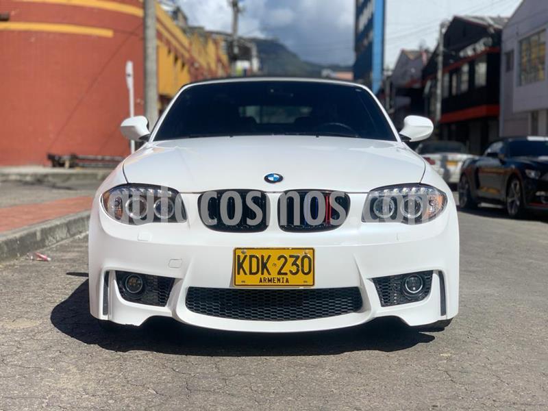 BMW Serie 1 120i Convertible usado (2012) color Blanco Alpine precio $76.990.000