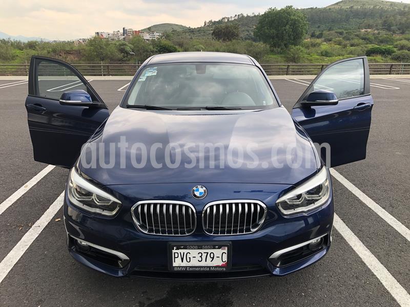 BMW Serie 1 5P 120iA Urban Line usado (2016) color Azul Profundo precio $273,000