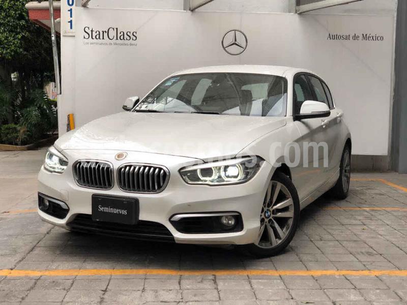 BMW Serie 1 5P 120iA Urban Line usado (2016) color Blanco precio $305,000