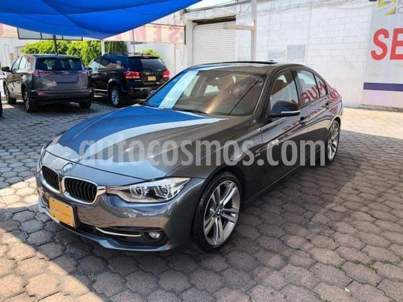 BMW Serie 1 3P 120iA Sport Line usado (2017) color Gris precio $450,000