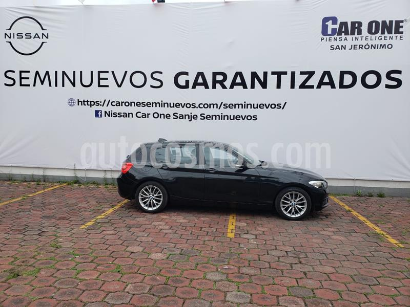 BMW Serie 1 3P 120iA usado (2017) color Negro Zafiro precio $329,900