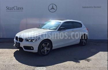 BMW Serie 1 3p 120i Sport Line L4/1.6/T Aut usado (2017) color Blanco precio $349,900