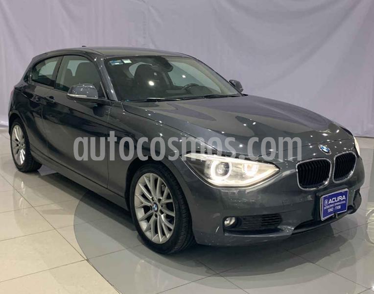 BMW Serie 1 3P 118i usado (2014) color Gris precio $210,000