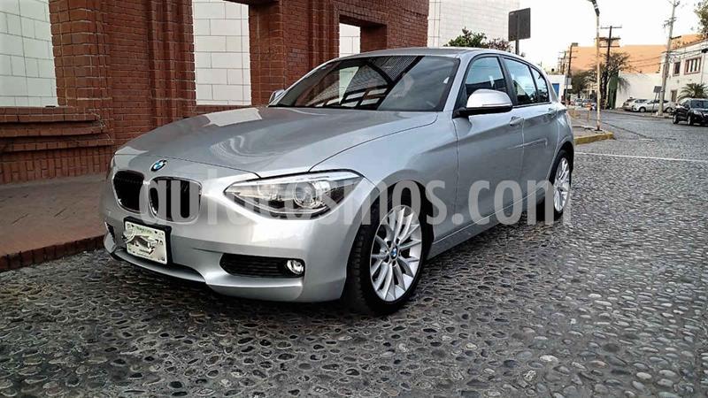 BMW Serie 1 5P 118iA usado (2015) color Plata precio $248,000