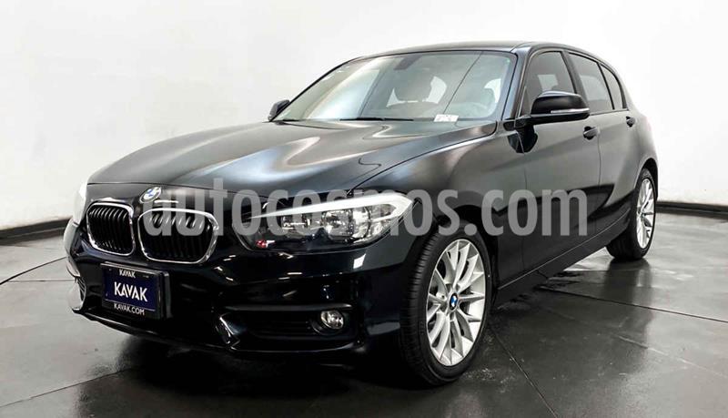 BMW Serie 1 3P 120iA Sport Line usado (2016) color Negro precio $329,999