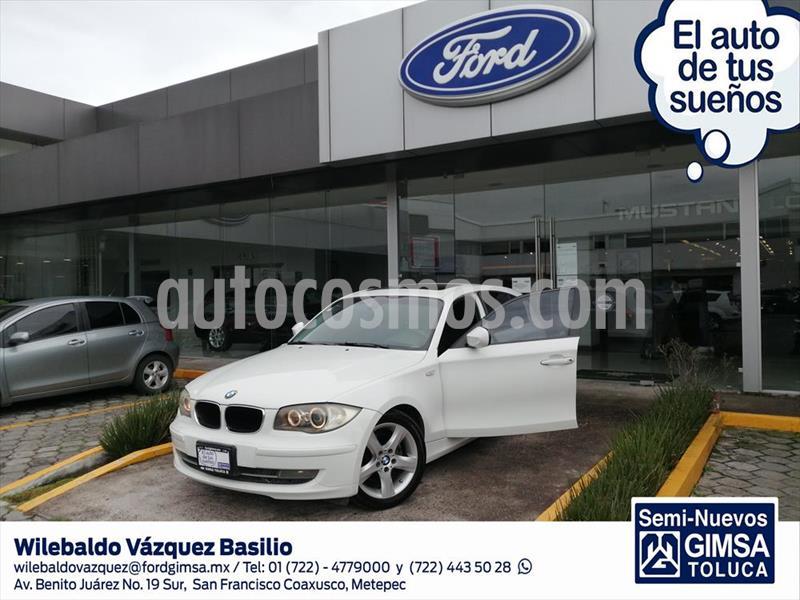 BMW Serie 1 5P 120I DYNAMIC 6VEL A/A Q/C usado (2011) color Blanco precio $150,000