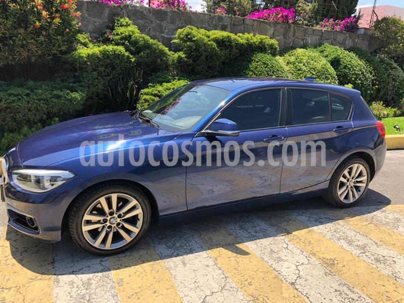 BMW Serie 1 5P 120iA Urban Line usado (2016) color Azul precio $250,000