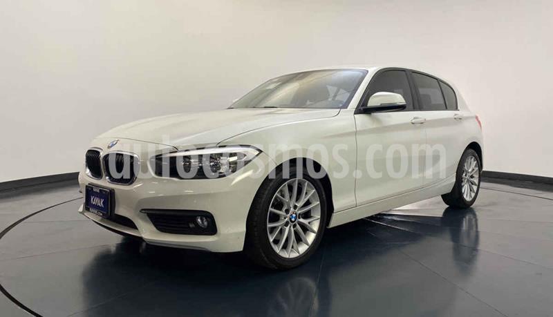 BMW Serie 1 5P 120iA usado (2016) color Blanco precio $312,999