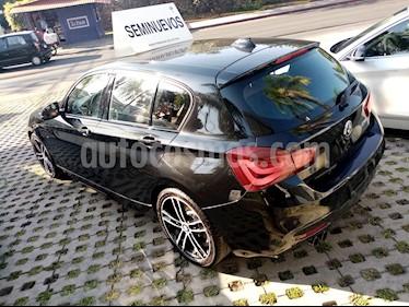 BMW Serie 1 3P 120i M Sport usado (2019) color Negro precio $460,000