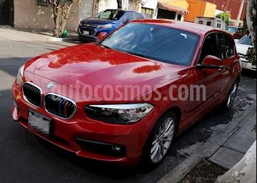 BMW Serie 1 Sedan 120iA M Sport usado (2016) color Rojo precio $265,000