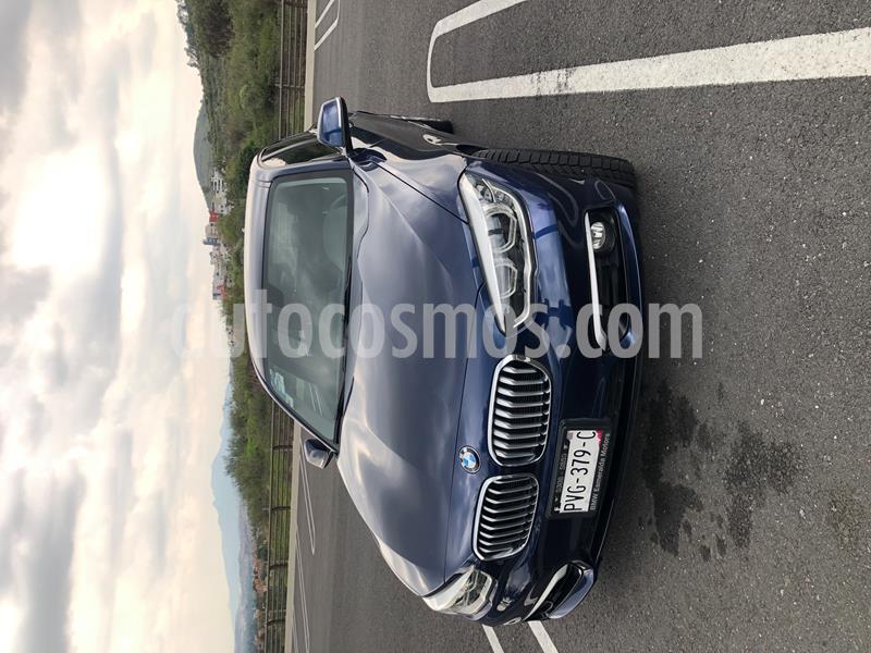 BMW Serie 1 5P 120iA Urban Line usado (2016) color Azul Profundo precio $285,000