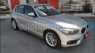 BMW Serie 1 5P 120i usado (2016) color Plata precio $269,000