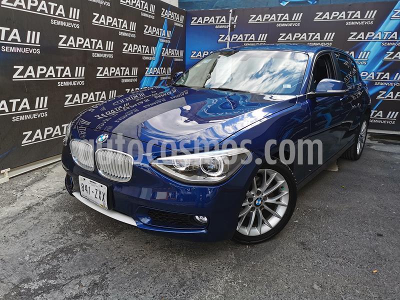 BMW Serie 1 3P 118i Urban Line usado (2015) color Azul Liquido precio $245,000
