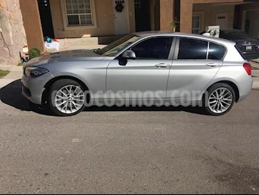 BMW Serie 1 5P 120iA usado (2016) color Gris precio $238,000