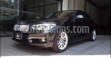 BMW Serie 1 3P HB 120I URBAN LINE TA TELA/PIEL RA-17 usado (2017) color Negro precio $309,000