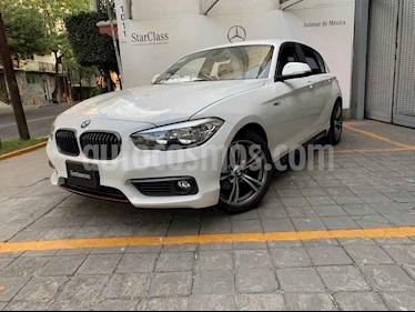 BMW Serie 1 5p 120i Urban Line L4/1.6/T Aut usado (2016) color Blanco precio $295,000