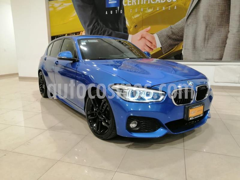 BMW Serie 1 3P 120iA M Sport usado (2017) color Azul precio $348,000