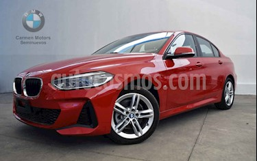 BMW Serie 1 5P 118iA M Sport  usado (2020) color Rojo precio $550,000