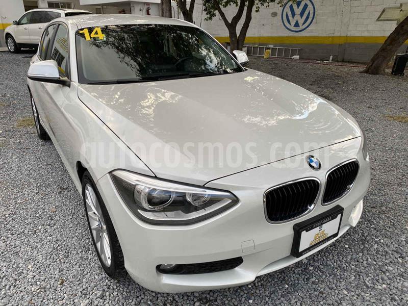 BMW Serie 1 5P 118iA M Sport  usado (2014) color Blanco precio $189,000