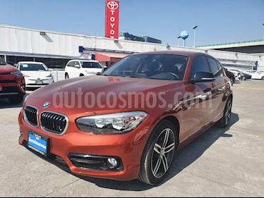 BMW Serie 1 3P 118iA usado (2018) color Naranja Valencia precio $379,000