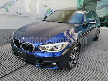 BMW Serie 1 5p 120i Sport Line L4/1.6/T Aut usado (2017) color Azul precio $410,000