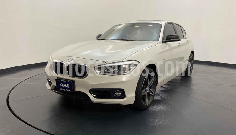 BMW Serie 1 3P 120iA Sport Line usado (2016) color Blanco precio $352,999