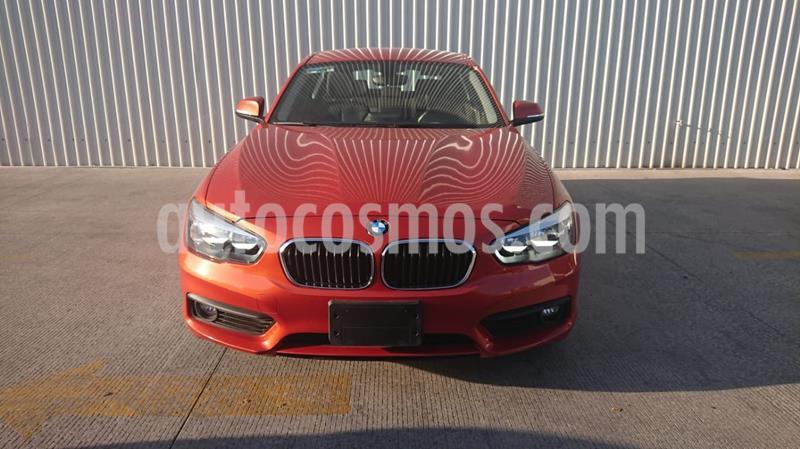 BMW Serie 1 5P 120iA usado (2016) color Naranja precio $289,000