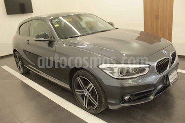 BMW Serie 1 3P 120iA M Sport usado (2018) color Gris precio $349,000
