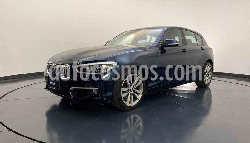 BMW Serie 1 3P 120iA Urban Line usado (2016) color Azul precio $339,999