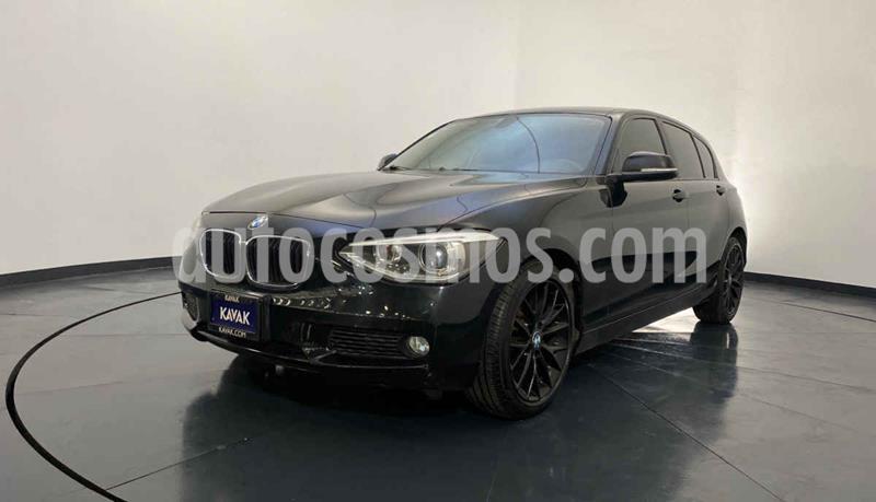 BMW Serie 1 3P 118iA  usado (2015) color Negro precio $247,999
